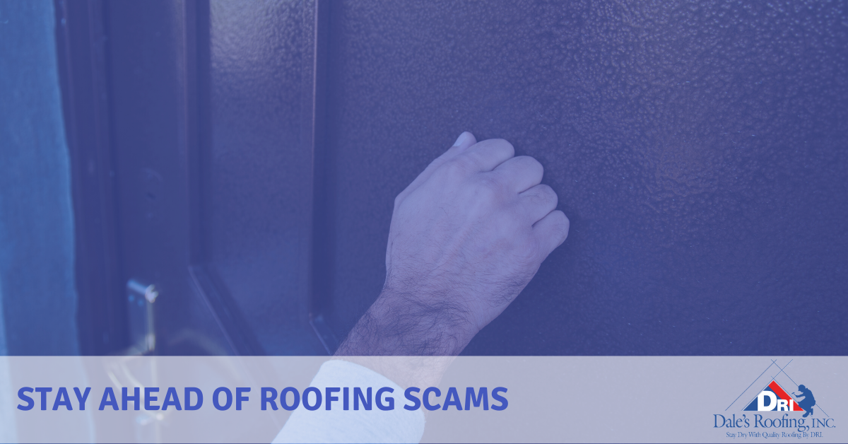 Stay Ahead of Roofing Scams
