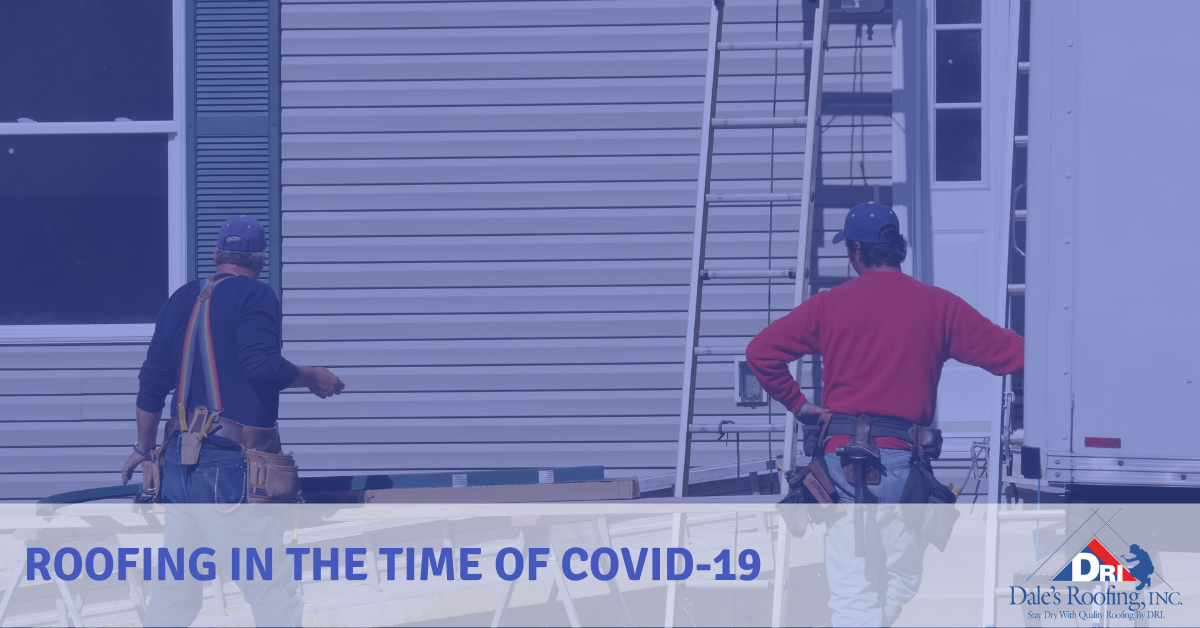 Roofing in the time of COVID-19
